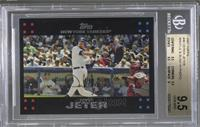 Derek Jeter (Mantle and Bush in background) [BGS 9.5]