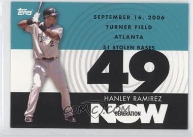 2007 Topps - Generation Now #GN347 - Hanley Ramirez