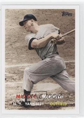 2007 Topps - Mickey Mantle Story #MMS66 - Mickey Mantle