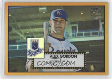 2007 Topps '52 - [Base] - Chrome Gold Refractor #TCRC14 - Alex Gordon /52