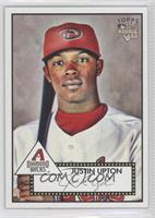 Justin Upton (Bat on Shoulder)