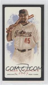2007 Topps Allen & Ginter's - [Base] - Mini Black Border No Number Back #CALE - Carlos Lee