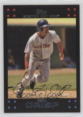 2007 Topps Boston Red Sox - [Base] #BOS10 - Coco Crisp
