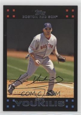 2007 Topps Boston Red Sox - [Base] #BOS7 - Kevin Youkilis