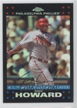 2007 Topps Chrome - [Base] - Refractor #257 - Ryan Howard