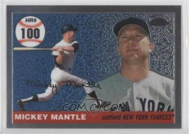 2007 Topps Chrome - Mickey Mantle Home Run History #MHRC100 - Mickey Mantle