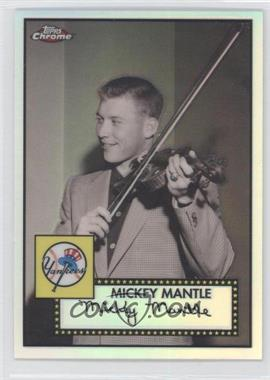 2007 Topps Chrome - The Mickey Mantle Story - Refractor #MMS12 - Mickey Mantle /500