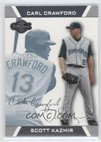 Carl Crawford, Scott Kazmir #/250