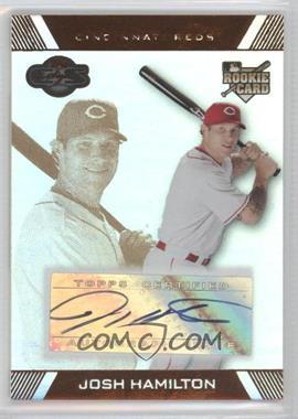 2007 Topps Co-Signers - [Base] - Hyper Silver/Bronze #120 - Josh Hamilton /50