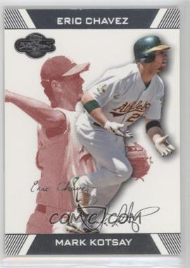 2007 Topps Co-Signers - [Base] - Red #68.2 - Eric Chavez, Mark Kotsay /299