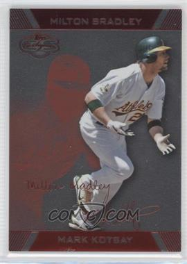 2007 Topps Co-Signers - [Base] - Silver Red #68.1 - Mark Kotsay, Milton Bradley /199
