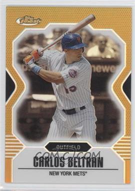 2007 Topps Finest - [Base] - Gold Refractor #10 - Carlos Beltran /50