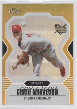 2007 Topps Finest - [Base] - Gold Refractor #142 - Chris Narveson /50