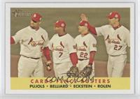 Albert Pujols, David Eckstein, Scott Rolen, Ronnie Belliard