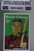 Hector Gimenez [CAS Certified Sealed]