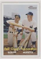 Fall Classic Teammates (Yogi Berra, Mickey Mantle)