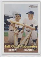 Fall Classic Teammates (Yogi Berra, Mickey Mantle)