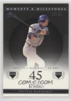 Ichiro Suzuki (2001 AL MVP/ROY - 69 RBI) /29
