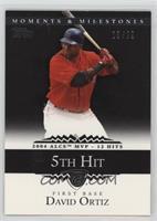 David Ortiz (2004 ALCS MVP - 11 RBI) /29