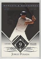 Jorge Posada (2005 Yankee Workhorse - 19 Home Runs) #/29