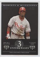 Jimmy Rollins (2005 NL All-Star - 41 Stolen Bases) #/29