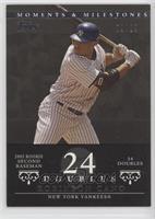 Robinson Cano (2005 Rookie Second Baseman - 34 Doubles) #/29