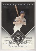 Mickey Mantle (1956 Triple Crown - 52 Home Runs) #/29