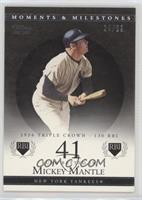 Mickey Mantle (1956 Triple Crown - 130 RBI) #/29
