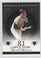 Mickey Mantle (1956 Triple Crown - 130 RBI) /29