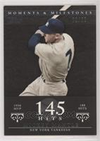 Mickey Mantle (1956 AL MVP - 188 Hits) #/29
