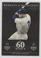 Mickey Mantle (1956 AL MVP - 188 Hits) #/29