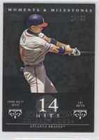 Chipper Jones (1999 NL MVP - 181 Hits) /29