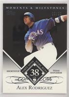 Alex Rodriguez (2003 AL MVP - 47 Home Runs) #/29