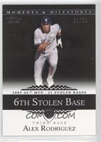 Alex Rodriguez (2005 AL MVP - 21 Stolen Bases) #/29