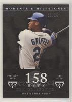Ken Griffey Jr. (1997 AL MVP - 185 Hits) #/29