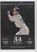Ichiro Suzuki (2001 AL MVP/ROY - 242 Hits) #/29