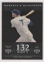 Mickey Mantle (1957 AL MVP - 173 Hits) #/29
