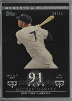 Mickey Mantle (1957 AL MVP - 173 Hits) [Noted] #/29