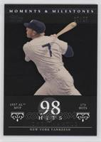 Mickey Mantle (1957 AL MVP - 173 Hits) /29