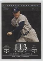 Mickey Mantle (1957 AL MVP - 121 Runs) [Noted] #/29