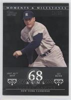 Mickey Mantle (1957 AL MVP - 121 Runs) #/29