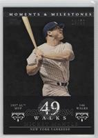 Mickey Mantle (1957 AL MVP - 146 Walks) /29