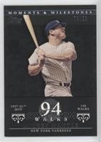 Mickey Mantle (1957 AL MVP - 146 Walks) /29