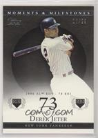 Derek Jeter (1996 AL ROY - 78 RBI) #/29