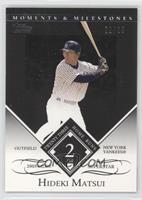 Hideki Matsui (2005 MLB Superstar - 23 Home Runs) #/29