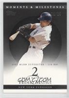 Hideki Matsui (2005 MLB Superstar - 116 RBI) #/29