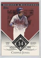 Chipper Jones (1999 NL MVP - 45 Home Runs) #/1