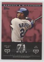 Ken Griffey (1997 AL MVP - 185 Hits) /1
