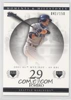 Ichiro Suzuki (2001 AL MVP/ROY - 69 RBI) /150