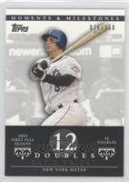 David Wright (2005 First Full Season - 42 Doubles) #/150